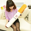 80CM Giant Soft Bolster Personality Smoking Simulation Pillow Creative Cigarette Style Stuffed Plush Men Birthday Gift