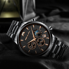 Men Sport Waterproof Chronograph Wrist Watch