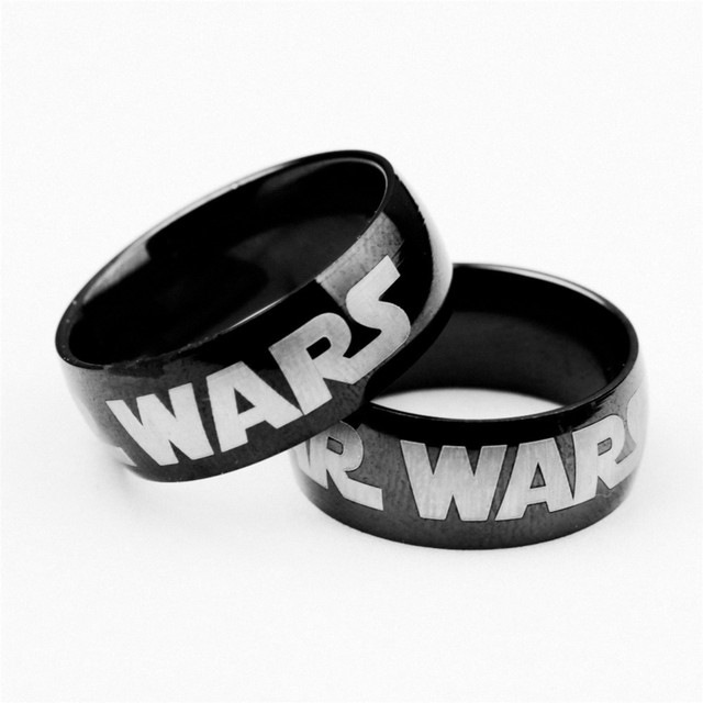 Star Wars Logo Stainless Steel Ring