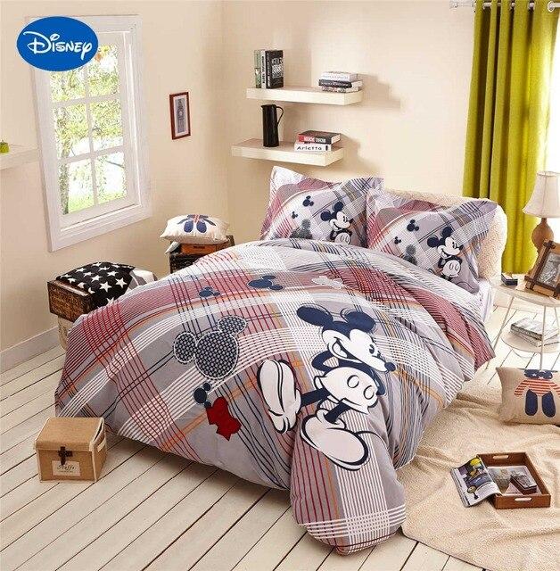 Mickey Mouse Edredons Cama Têxtil Gêmeo Rainha das Crianças Home