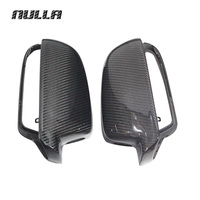 NULLA Carbon Fiber For AUDI A4 B9 2013 2014 2015 A5 Wing Rearview Cover Exterior Trim
