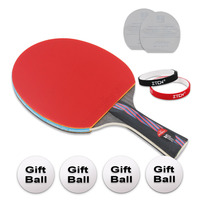 Brand Quality M960 Table tennis racket Ddouble Pimples in rubber Ping Pong Racket tenis de mesa table tennis