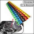 Universal Motorcycle Exhaust Muffler Pipe Heat Shield Guard Cover For Moto Guzzi V7 Racer Special