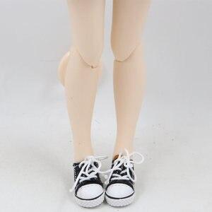 Image 5 - Blyth boneca sapatos de tecido com cinco diferentes cores para adequado para 1/6 do órgão CONJUNTO