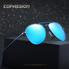 Aviation Titanium Polarized sunglasses women men Luxury leisure Brand Sunglass pilot sun glasses driver oculos lunette de soleil(China)
