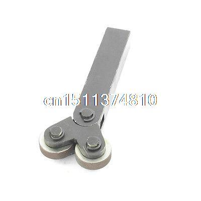 Diagonal 0.8mm Pitch 28mm Double Wheels Linear Knurl Knurling Tool