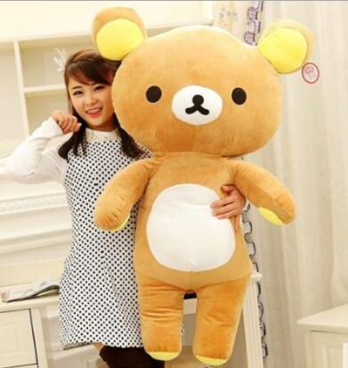 25cm Supe cute Rilakkuma bear teddy plush dolls stuffed animal soft baby toys for Children