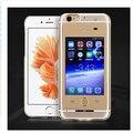 Нет Jailbreak Dual SIM Card Dual Standby SIM Адаптер Случаи Вызова SMS Длительным Временем Ожидания Батарея для iphone 6 (s)/6 (с) плюс