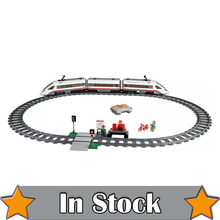 Lepin 02010 610Pcs Creator High-speed Passenger Train Remote-control Trucks Set Model Building Blocks Bricks Toys For 60051