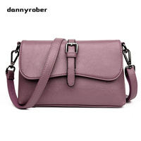 Women Shoulder Bag High Quality Female Small Messenger Bag Flap Ladies Crossbody Bag Soft PU Leather Small Bag Bolsas Femininas
