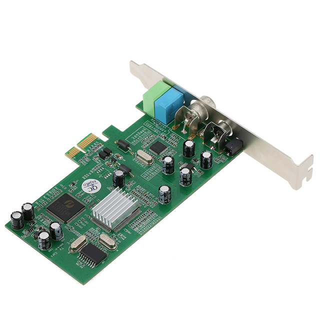 Pci E Internal Tv Tuner Card Mpeg Video Dvr Capture Recorder Pal Bg