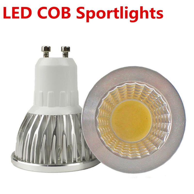 Super Bright LED COB Spotlight Dimmable E27 E14 GU5.3 Led GU10 220V 6W 9W 12W LED Lamp Lighting Warm / Pure / Cool Whi