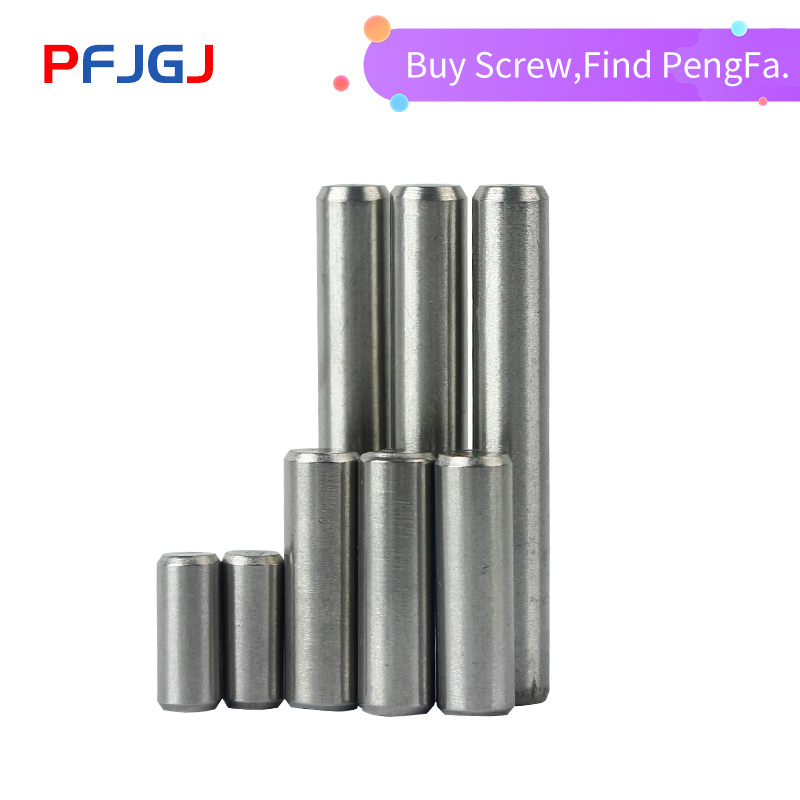 Peng Fa  M1 M1.5 M2 M2.5 M3 M4 M5 GB119 Cylindrical Pin Parallel Pins 304 Stainless Steel