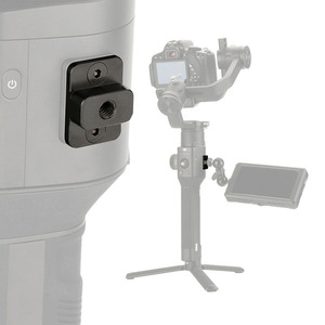 Image 1 - מצלמה צג הרכבה צלחת וידאו הארכת מתאם עבור DJI ללא מעצורים S Gimbal Extender מייצב עם 1/4 בורג עבור קסם זרוע מיקרופון