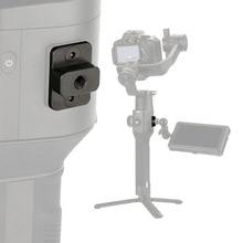 Kamera Monitor Montage Platte Video Verlängerung Adapter Für DJI Ronin S Gimbal Extender Stabilisator mit 1/4 Schraube Für magie Arm Mic