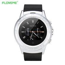 Floveme sport smart watch sim-karte bluetooth smartwatch passometer nachricht call reminder herrenuhr für samsung huawei android