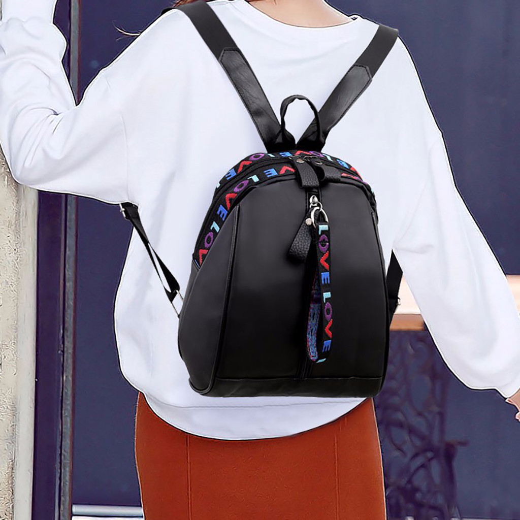 New Casual Mochilas Mujer 2019 Back Pack Sac A Dos Femme Women Oxford Cloth Wild Fashion Casual Student Bag Travel Backpack #C7