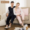 Qianxiu 2016 Popular Pajamas For Couple New Flannel Popular Model For Women Plus Size Pink Color Comfortable