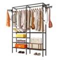 68 ''вешалка для одежды вешалка для пола вешалка для хранения одежды сушилка для одежды черный/белый porte manteau kledingrek perchero