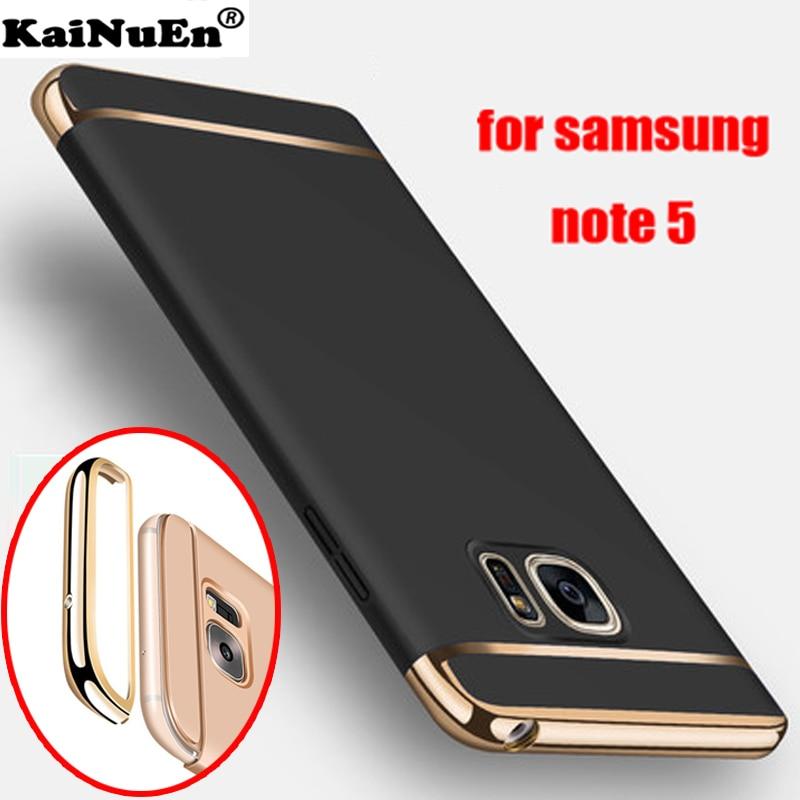 kainuen Luksuzni zaštitni oklop tvrdi plastični navlaka za leđa coque za samsung galaxy note 5 note5 dodatna oprema za telefone