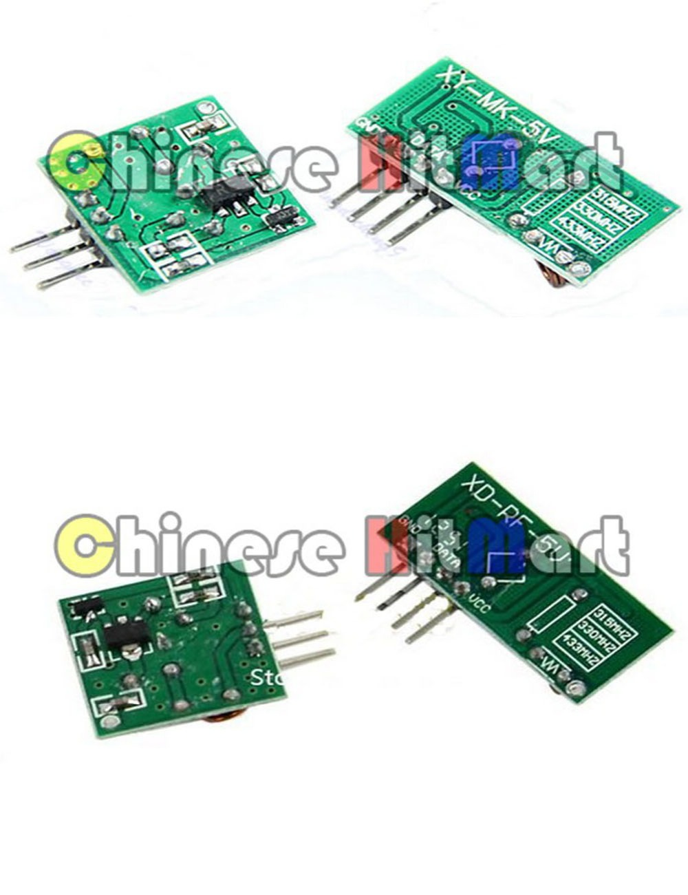 433mhz Rf Transmitter And Receiver Link Module Board Remote Arduino Circuit Controller For High Quality 50pcs Lot Wholesalej339 1 In Integrated Circuits From