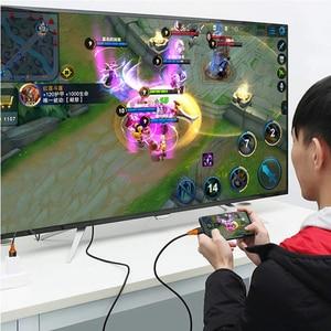 Image 5 - Кабель адаптер 4K 60 Гц USB C Type c к HDMI 4K, USB C HDMI Thunderbolt 3 для Macbook pro Samsung s8 s9 s10 Huawei Mate 20 P30 PRO