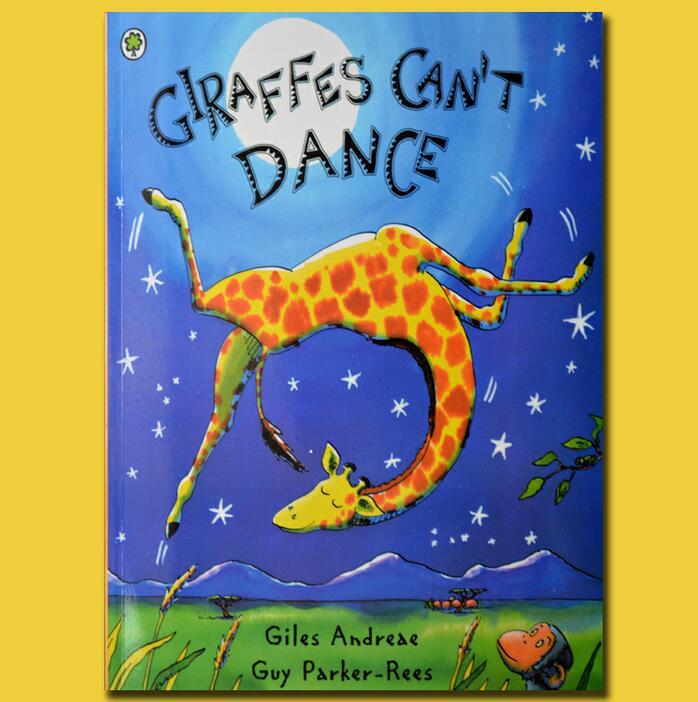 GIRAFFES CAN'T DANCE kids books educational ENGLISH ...