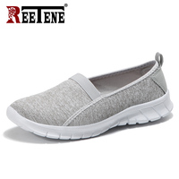 REETENE Men Shoes Summer Sneakers Lightweight Tenis Casual Shoes Couple Lover Slip On Men Flats Runing Shoes Men Zapatos Hombre