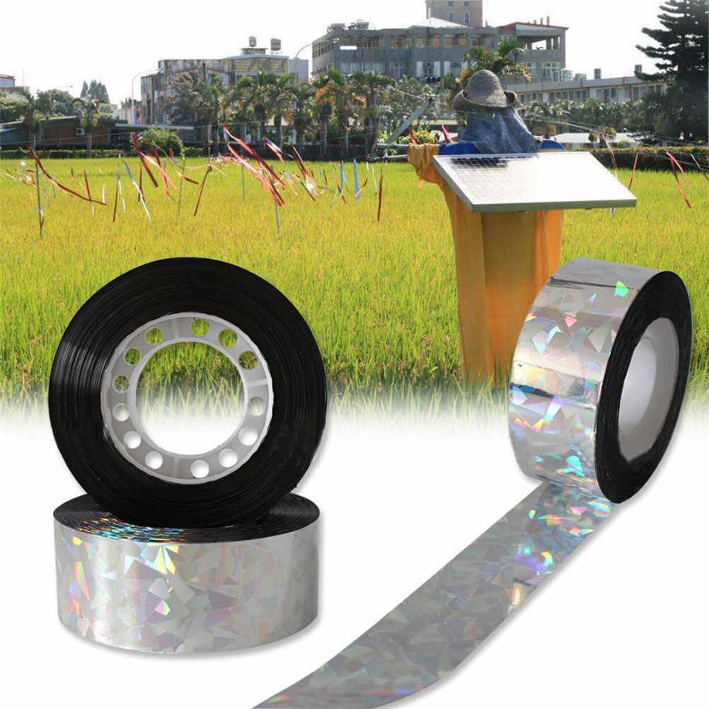 80 メートル放音音よけ抑止ガーデンデポホログラフィックフラッシュ反射鳥恐怖テープフラッシュテープ