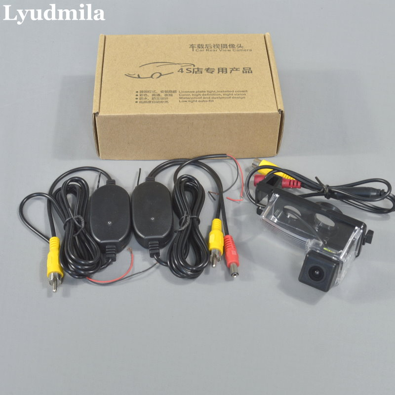 Wireless For Nissan Patrol Y61 Patrol 4WD Super Safari / Car Rear View Camera / HD Back Up Reverse Camera / CCD Night Vision