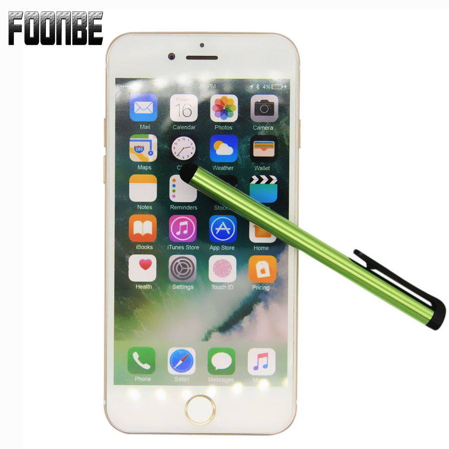 1Pcs Capacitive Touch Screen Stylus Pen For IPad  For IPhone 5 6 7 8 For Samsung Universal Tablet PC Smart Phone