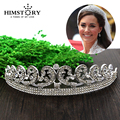 Top quality Luxury Classic Bride European Rhinestone crystal Bridal Hair Crown Tiara wedding dress accessories