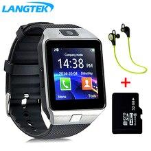 Langtek  DZ09 Bluetooth Smart Watch Sport Pedometer With SIM Camera Smartwatch For Android   phone
