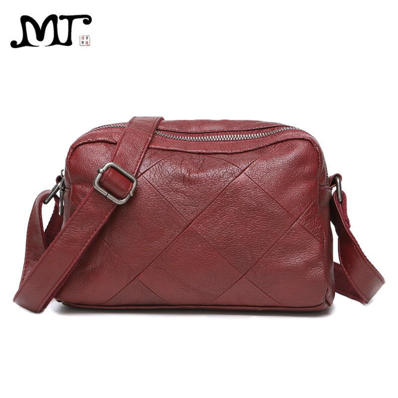 MJ Genuine Leather Women Bag High Quality Real Cow Leather Crossbody Handbag Female Shoulder Bags Large Capacity Messenger Bag high quality pu leather women shoulder bag elegant fashion women crossbody bag female casual large capacity solid messenger bag