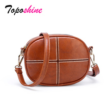 Toposhine 2019 High Quality Leather Mini Women Bag Luxurious Ladies Small Crossbody Fashion Shoulder Messenger BAGS