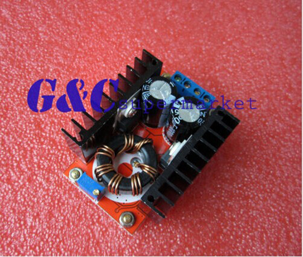 1PCS 150W 10-32V~ 12-35V 6A Step Up Voltage Charger Power DC Boost Converter