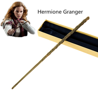 Metal Core Hermione Granger Magic Wand Harry Potter Magical Wands Quality Gift Box Packing