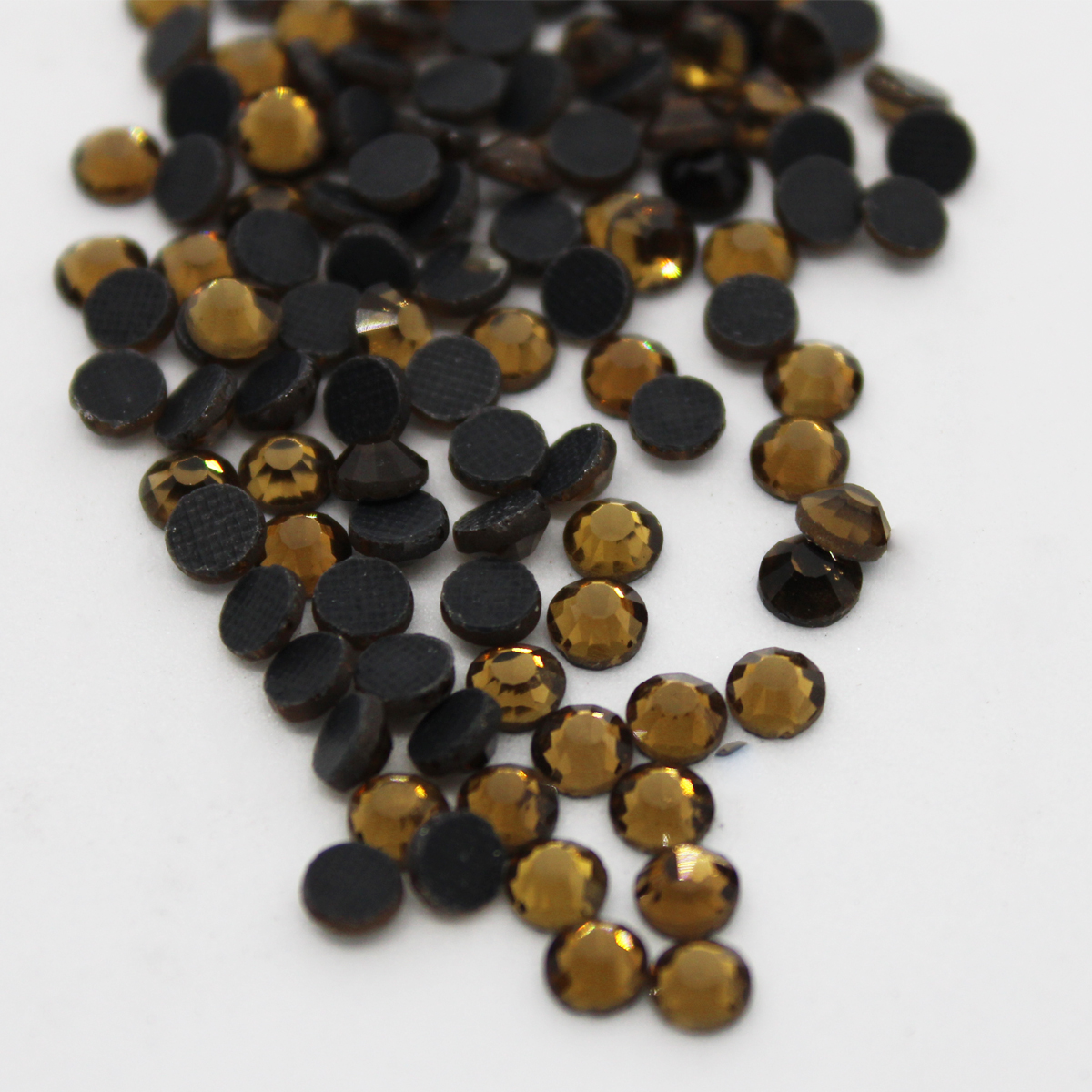 Smoked Topaz Large Package Crystal Glass DMC Machine Cut Hotfix Rhinestone Hot Fix Iron On Rhinestone Garment Sewing Stone hotfix rhinestones smoked topaz ab flatback round glass iron on strass for garment hotfix rhinestones with glue backing