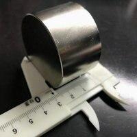1 шт. N52 диаметр 50x30 мм Лидер продаж круглый магнит супер сильный редкоземельный неодимовый магнит оптовая продажа 50*30 мм Бесплатная доставка