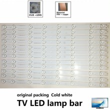 12pcs 448mm Konka Hisense TCL TV Replacement Backlight Array LED Strip Bar LG TV Backlight Bar Cold White 8 LED new led backlight bar strip for konka kdl48jt618a kdl48jt618u kdl48ss618u 35018539 35018540 6 leds 6v 442mm