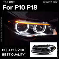 AKD Car Styling Head Lamp for F10 F18 Headlights 2010-2016 520i 525i 530i All LED Headlight DRL Hid Bi Xenon Auto Accessories