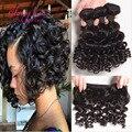 brazilian afro kinky curly hair short weave hair 3 bundles spiral curl human hair extension bouncy curl kinky curly virgin hair