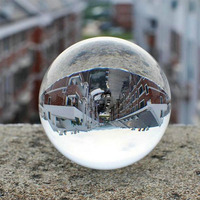 100mm Rare Clear Asian Quartz Crystal Ball Sphere Fengshui Glass Ball Craft Home Decoration Wedding souvenir