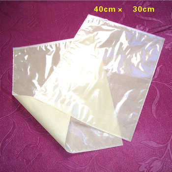 Zipper top clothes bag 30*40cm slider zip lock plastic bag non woven fabric bags white black pink beige hot pink 50pieces a lot