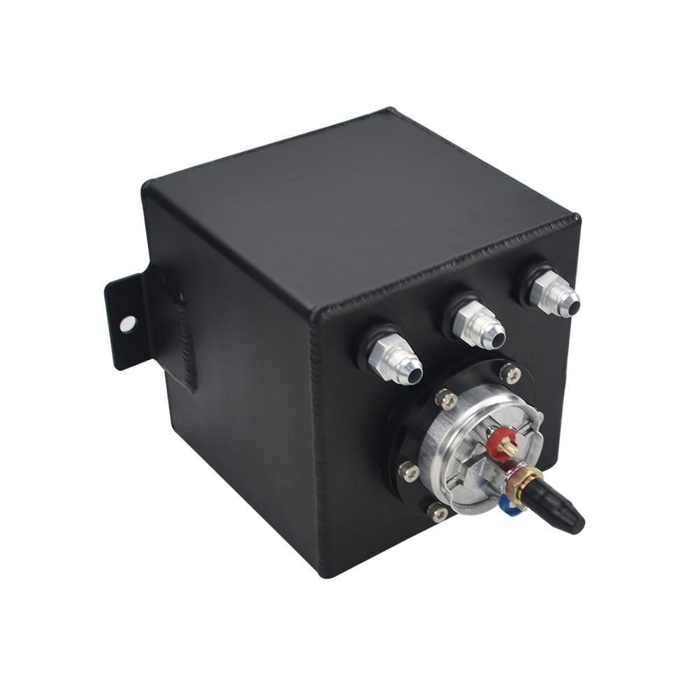 2L billette en aluminium réservoir de surtension/réservoir de surtension + haute qualité externe 044 pompe à carburant PQY-TK8344 - 4