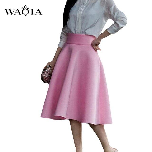 2017 Nuevo Invierno Larga Para Mujer de La Falda Retro de Gamuza Faldas Plisadas Alta Cintura de La Falda Saias Femininas 9 Colores Más El Tamaño S-5XL