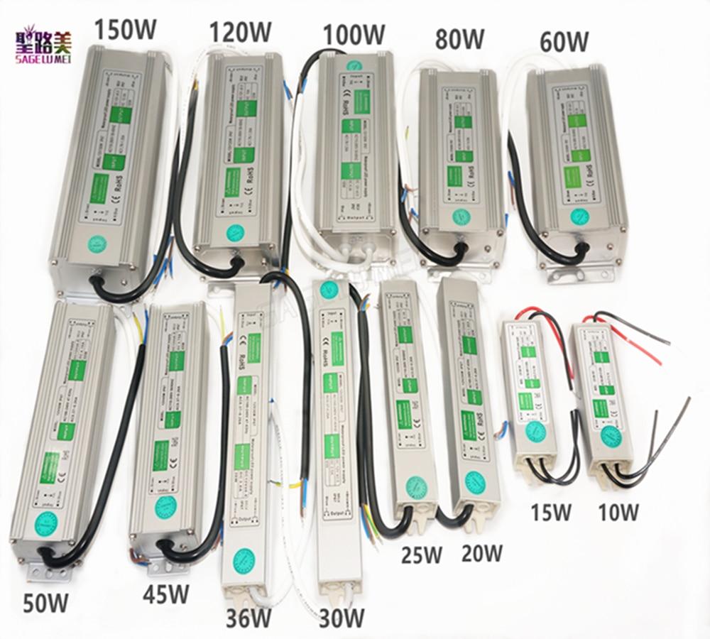0-30W slim LED Trafo Treiber Netzteil Transformator Driver Adapter 24V//D