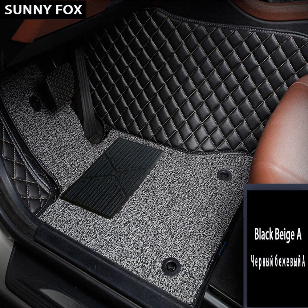 Tapis de sol de voiture pour Subaru Forester Legacy Tribeca XV 5D revêtement de sol de tapis robuste