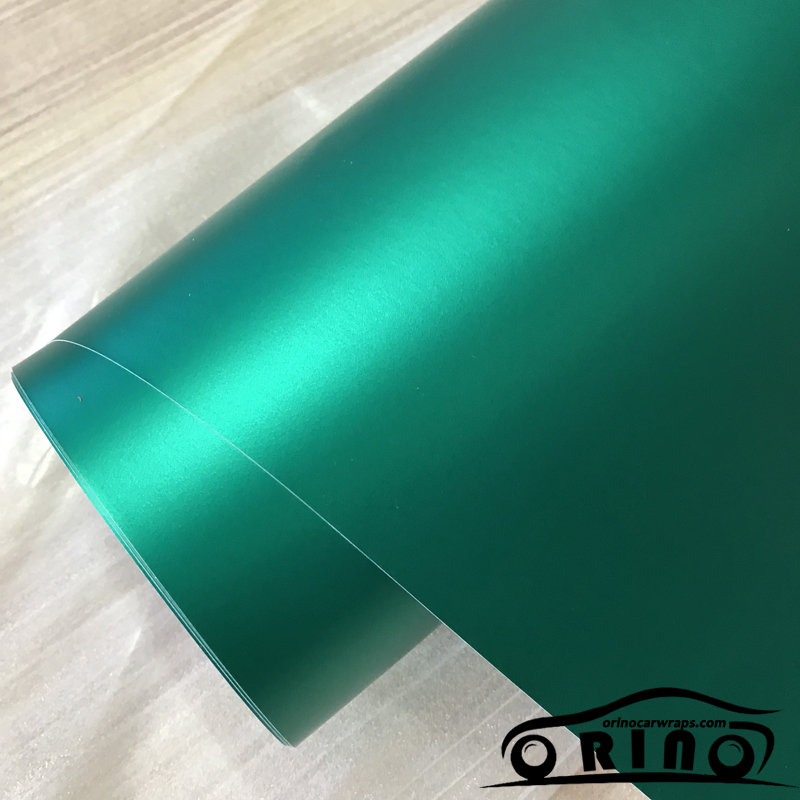 Ice Lake Blue Metallic matte chrome Vinyl Wrap Car Wrapping Film For Car Vehicle styling With
