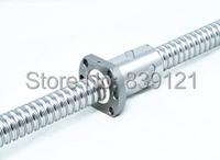 Rolled ballscrew SFS1616 with single nut can be end machine 1000MM please offer drawing